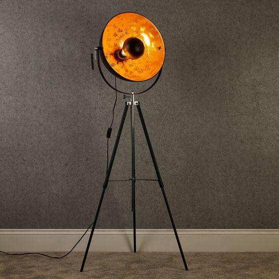 Edit Studio Floor Lamp - Black