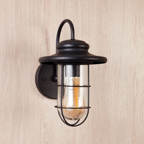 Edit Pavia Outdoor Wall Light - Matt Black