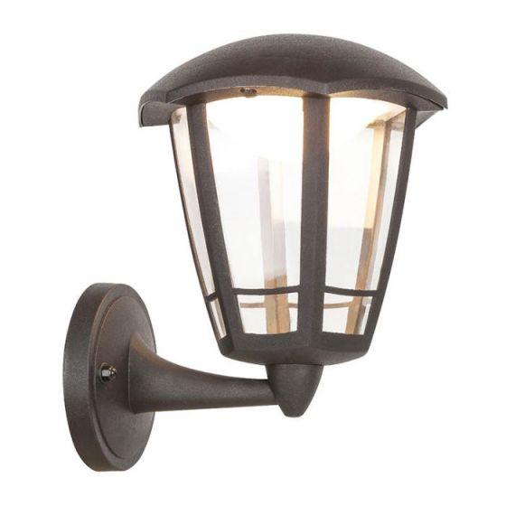 Edit Sorrento LED Outdoor Wall Light - Matt Black