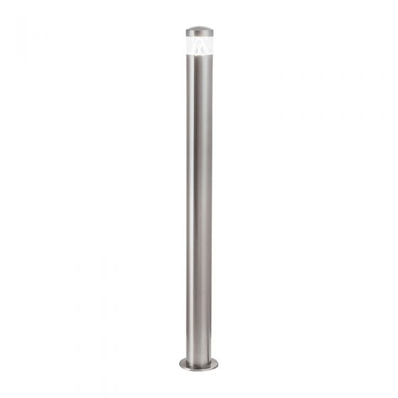 Edit Tuscan LED Outdoor Tall Post Light - Stainless Steel