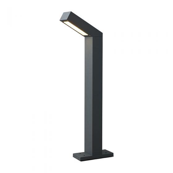 Edit Lotus LED Outdoor Bollard Light - Grey