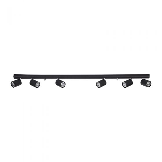 Edit Eye 6 Light Spotlight Plate - Black