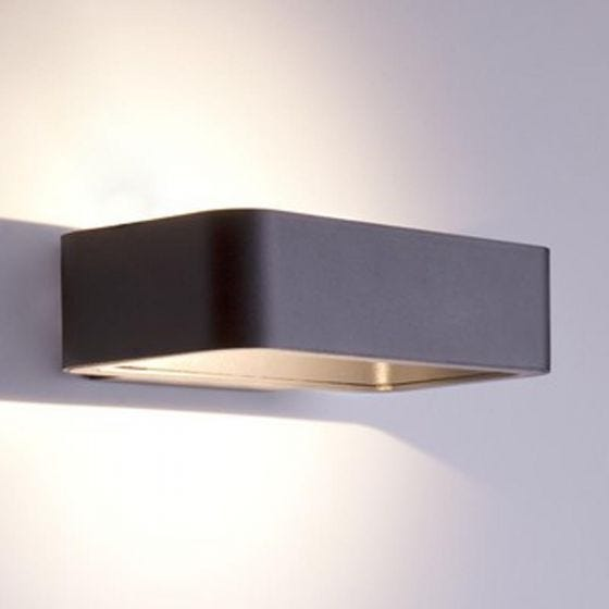 Edit Ribbon LED Outdoor Up & Down Wall Light - Grey
