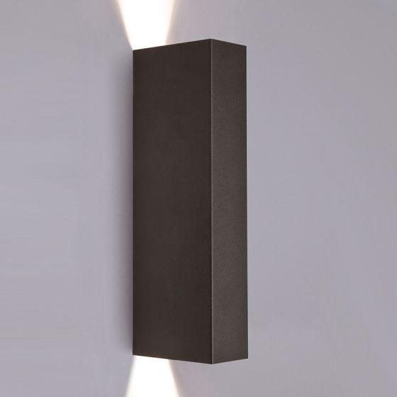 Edit Slab Up & Down Wall Light - Black