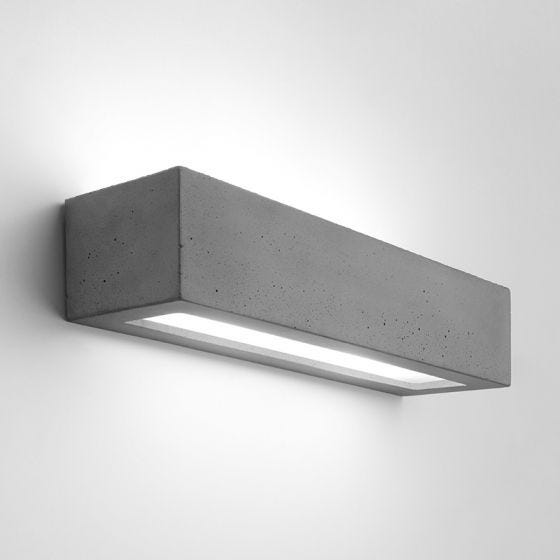 Edit Compact Up & Down Wall Light - Concrete