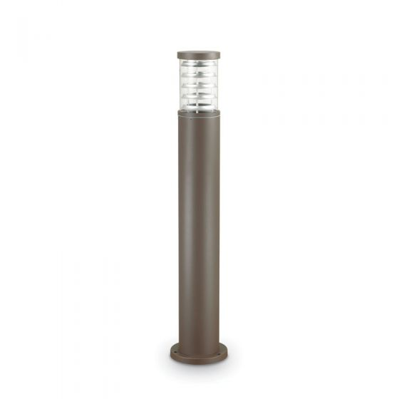 Tronco Tall Outdoor Post Light - Coffee