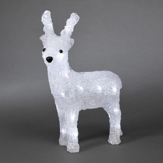 Konstsmide Small Battery Operated LED Reindeer
