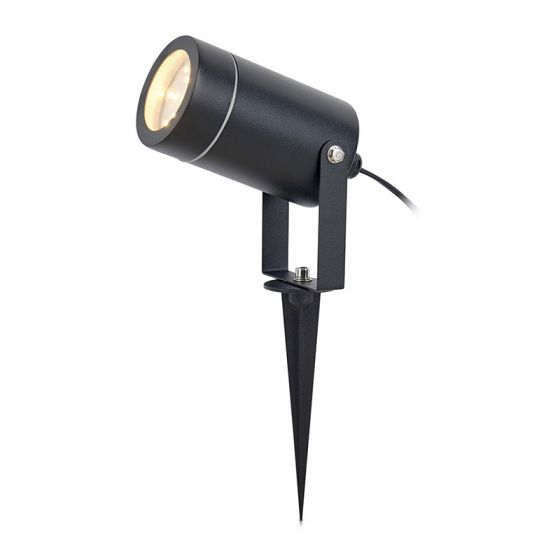 EasyFit 12v Garden Lights - Chelsea LED Garden Spotlight - Black