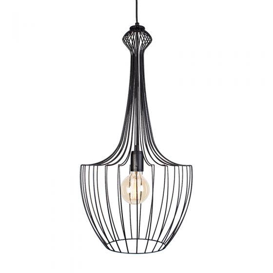 Edit Form Ceiling Pendant Light - Black