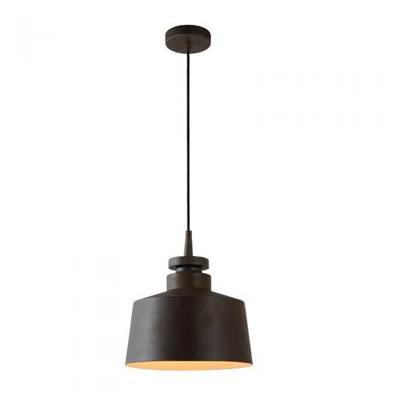 Lucide Camus Ceiling Pendant Light - Rust Brown