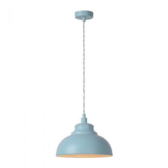Lucide Isla Ceiling Pendant Light - Pale Blue