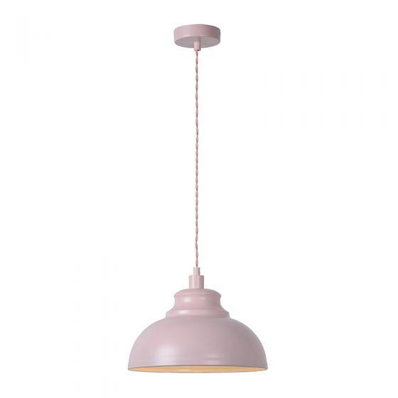 Lucide Isla Ceiling Pendant Light - Pink