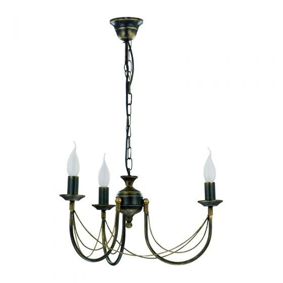 Edit Chateau 3 Light Chandelier - Aged Gold