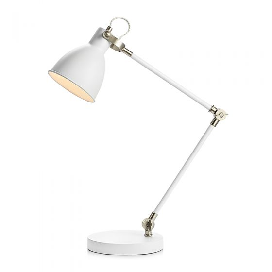 House Desk Lamp - White