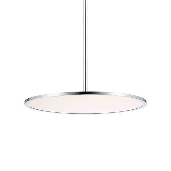 Planet LED Ceiling Pendant Light - Chrome