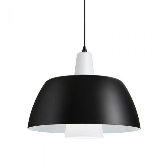 Solo Ceiling Pendant Light - Black