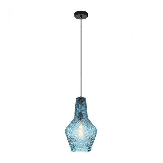 Edit Ono Glass Ceiling Pendant Light - Blue
