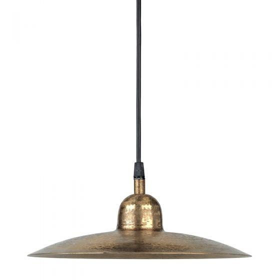 Edit Como Ceiling Pendant Light with Plug - Beaten Gold