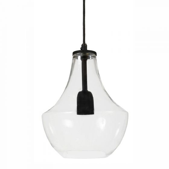 Edit Hamilton Glass Ceiling Pendant Light - Clear