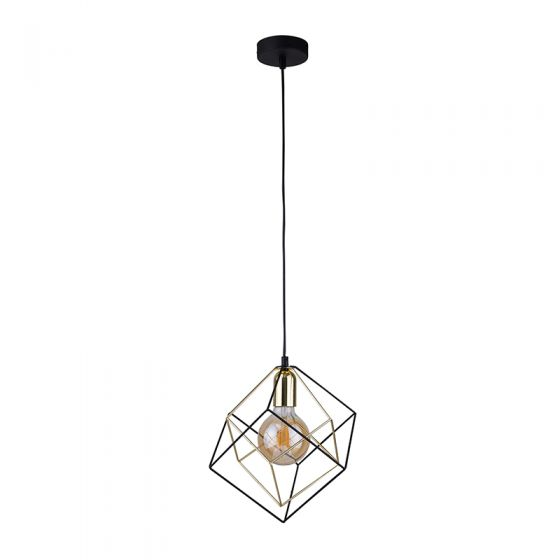 Edit Layer Ceiling Pendant Light - Black & Gold