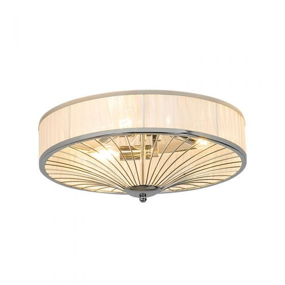 Edit Indulge Flush Ceiling Light - Chrome