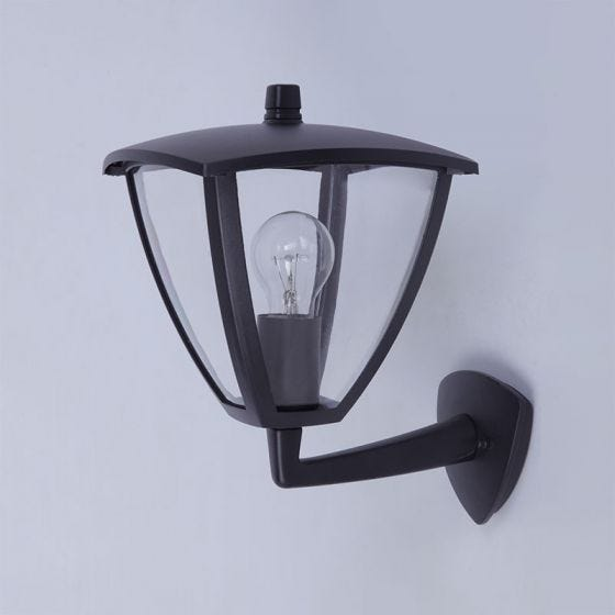 Edit London Outdoor Lantern Wall Light - Black