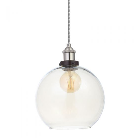 Edit Basin Glass Easy Fit Ceiling Pendant Shade - Champagne