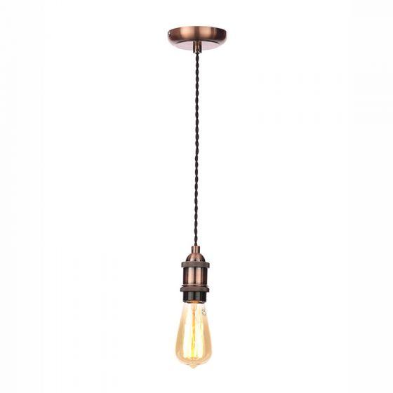 Edit Ceiling Pendant Lamp Holder - Antique Copper