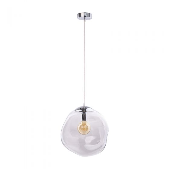 Edit Bubble Glass Ceiling Pendant Light - Clear