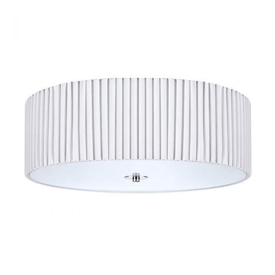 Jackie 45 Flush Ceiling Light - White