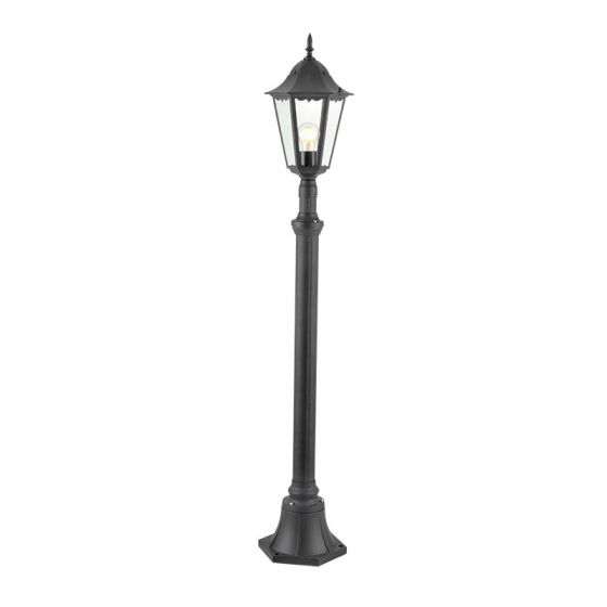 Edit Traditional Lamp Post - Black