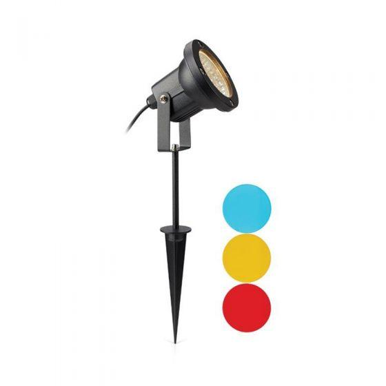 EasyFit 12v Garden Lights - Scene LED Spotlight - Black