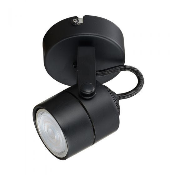 Edit Direct Single Spotlight - Black