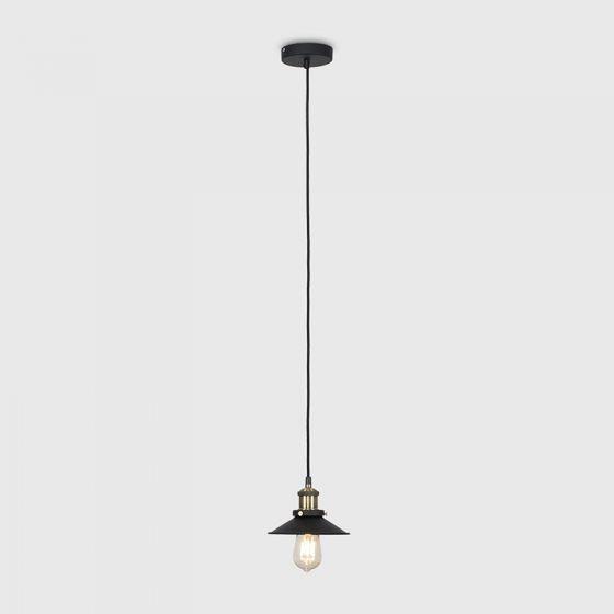 Edit Steam Ceiling Pendant Light - Black