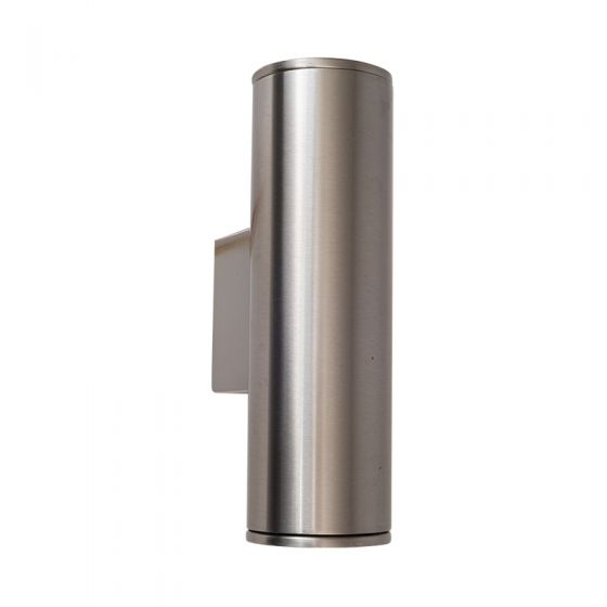 Edit Pimlico LED Outdoor Up & Down Wall Light - Stainless Steel