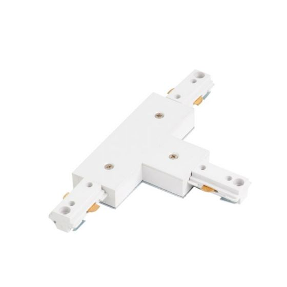 Robus 1 Circuit Track T-Connector - White