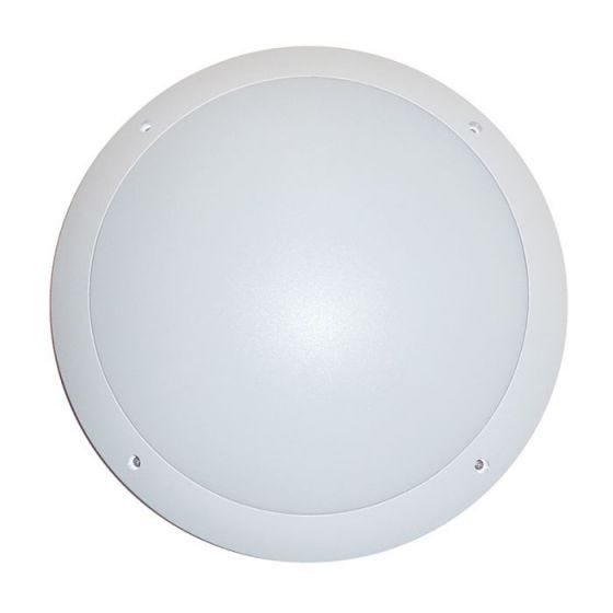 Eterna 12W LED Flush Light with Microwave Movement Sensor - White