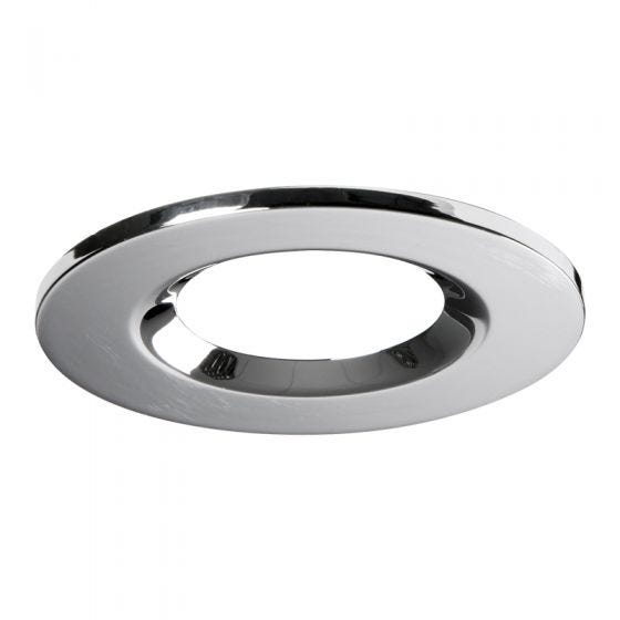 Knightsbridge Round Bezel for Downlights - Polished Chrome
