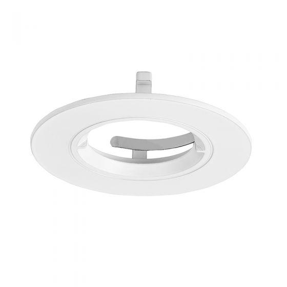 Aurora Enlite Round Fixed Bezel for EFD Pro Downlight - Matt White