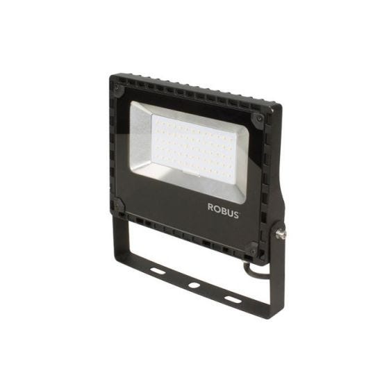 Robus Champion 50W Cool White LED Floodlight - Black