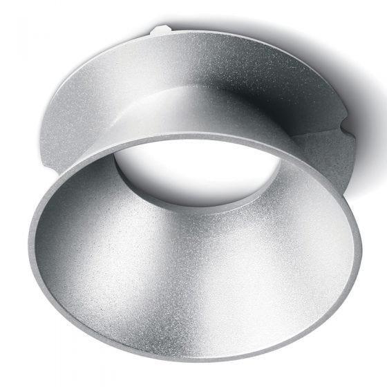 Air Round Reflector for Trimless Plaster In Downlight - Grey