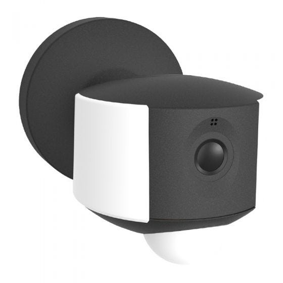 Lutec Ara 5W LED Security Wall Light with PIR Sensor and HD WiFi Camera