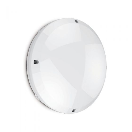 Seal 12W Cool White LED Flush Light