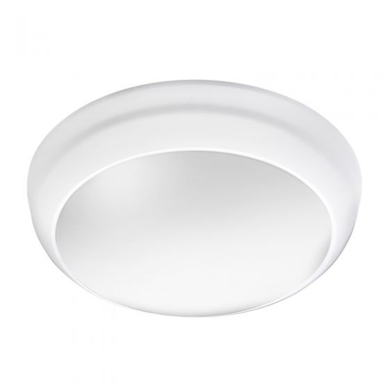 Lunar Eco 8W Cool White LED Flush Light  - White