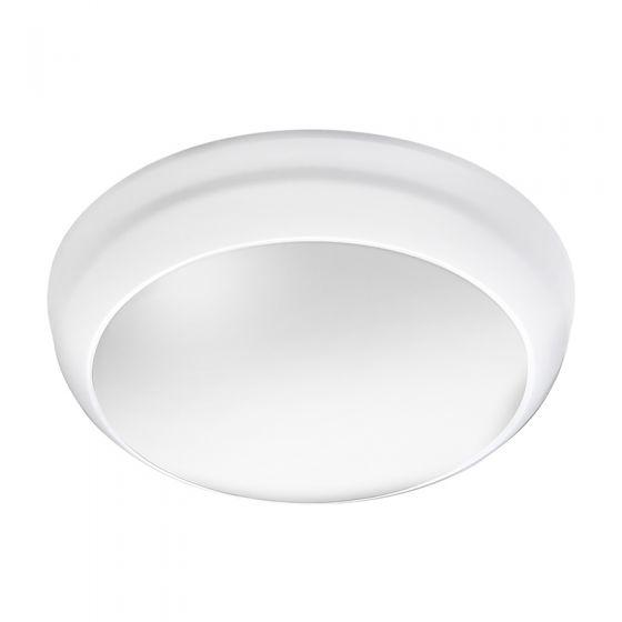 Lunar Eco 14W Cool White LED Flush Light  - White
