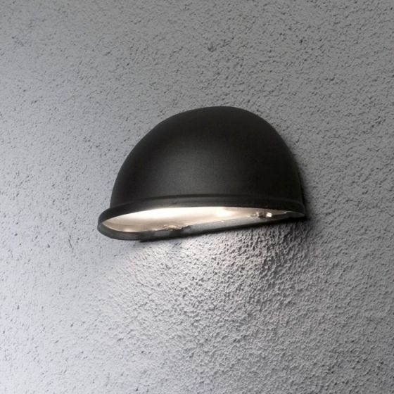 Konstsmide Torino Outdoor Wall Washer Light -  Black