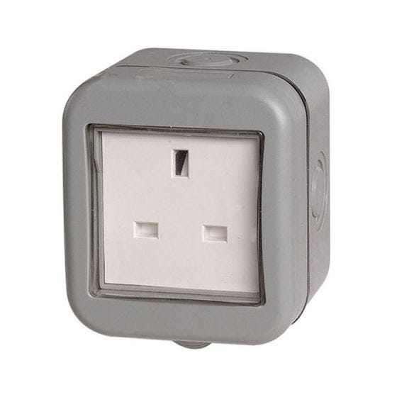 Outdoor 1 Gang 13 Amp Socket - IP55