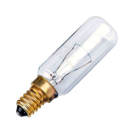 40W Clear Cooker Hood Bulb - Small Screw Cap