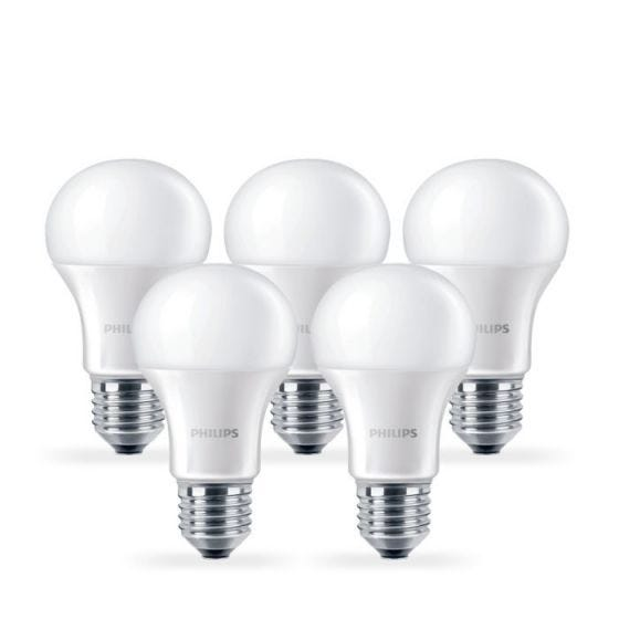 Philips 13W Corepro Warm White LED GLS Bulb - Screw Cap - Pack of 5