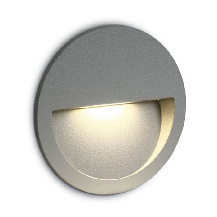 Round Led Outdoor Wall Light, Outdoor Wall Downlights Led